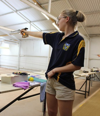 Pistol Shooting State Title