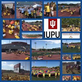 Kindergarten visits IUPUI