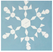 Geometry Shape Snow Flakes Lesson