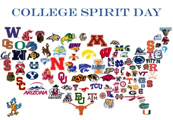 Every Friday at CMS is COLLEGE DAY!