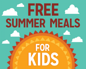 """SUMMER """"PICK UP AND GO MEALS"""" FOR CHILDREN STARTING JUNE 3"""