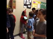Zoe sharing about Garrett Morgan.