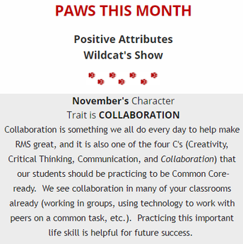 PAWS of the Month: Collaboration