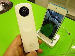 Theta 360 degree camera kit