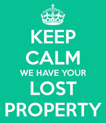 mountains of LOST PROPERTY!