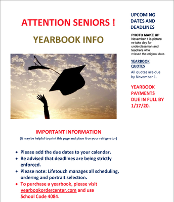 Yearbook Info