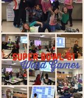 Super Bowl Fun in Mrs. Borchardt class!