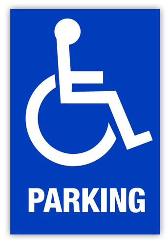 Reminder...Please don't block access to the Disabled Parking spaces.