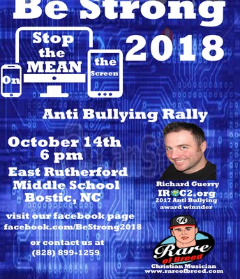 Anti Bullying Ralley Opportunity