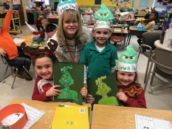 "Time In Grade One Is Never ""Grinchy"""