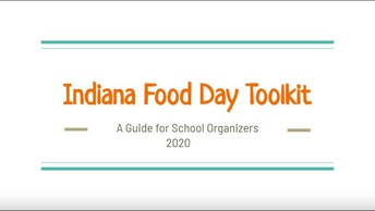 Indiana Food Day 2020 Toolkit Now Available