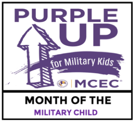Purple Up for Military Children