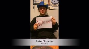 Luke Noonan, NCASC President