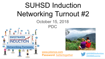 Induction Networking Turnouts #2 and #3: 10/16 & 11/26/18