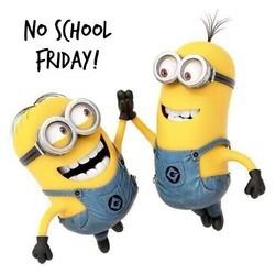 No School, Friday, September 21