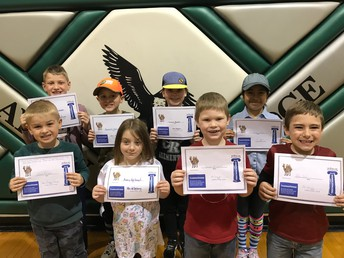 Character Awards for Trustworthiness