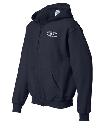 K-8 Navy Sweatshirt