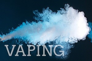 New Vaping Policy - Takes Effect Jan. 2020