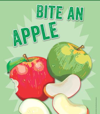 Bite an apple