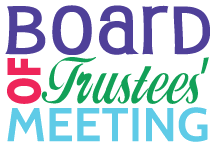 Board of Trustees Meeting: September 9, 2019 at 6:00 p.m.
