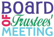 Board of Trustees Meeting: December 9, 2019 at 6:00 p.m.