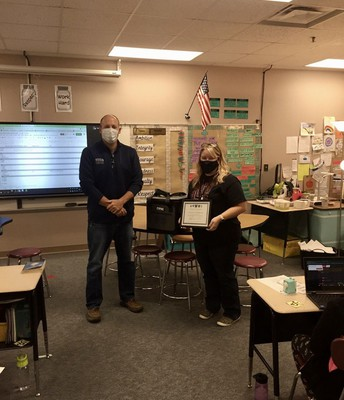 MCCSC Teacher of the Month