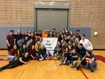 Congratulations to our State Champion Drama Team
