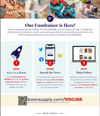 Boon Catalogue Fundraiser
