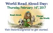 World Read Aloud Day - February 16