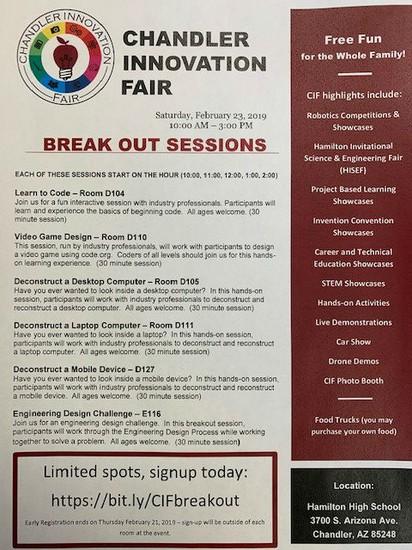 Innovation Fair Flyer