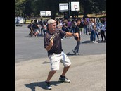 Mr. Beaulieu busting a move