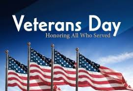 Veteran's Celebration at G-D tomorrow