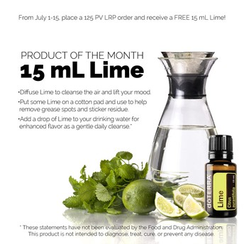 PRODUCT OF THE MONTH - LIME
