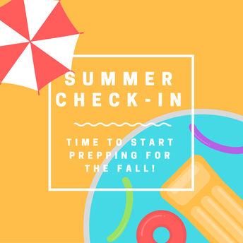 Summer Check-In