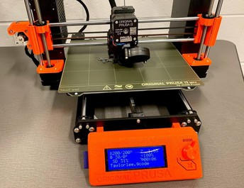 3D printer in GMS FUSE Lab