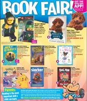 Elementary School Book Fair Flyer