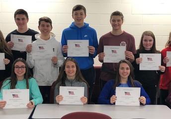 8th grade essay winners