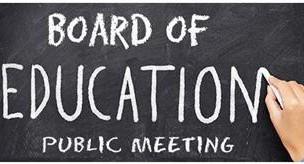 BOARD OF EDUCATION MEETING TONIGHT, THURSDAY, APRIL 15TH