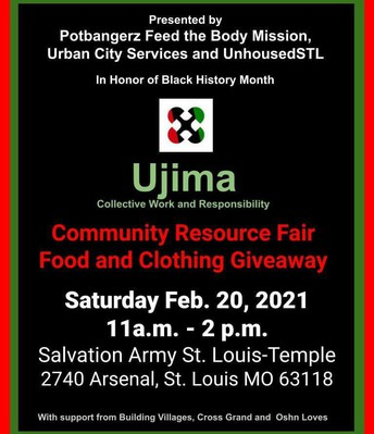 Clothing and Food Giveaway