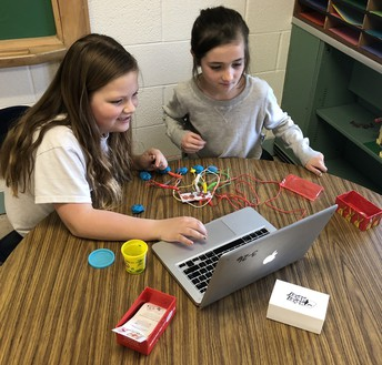 3rd Graders Explore Objects with Makey Makey