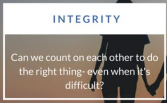 MARCH - INTEGRITY