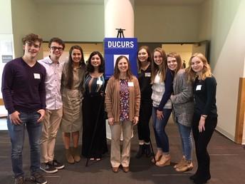 AP Biology students present at DUCURS at Drake University!