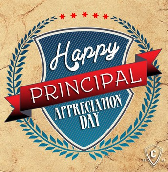 Principal's Appreciation Day - Wednesday, May 1st