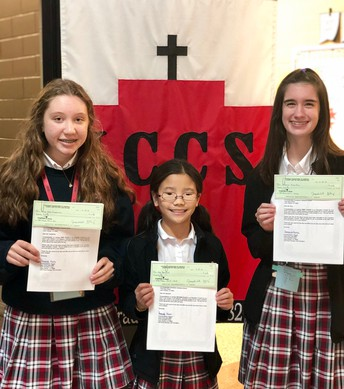CATHOLIC DAUGHTERS CONTEST WINNERS ANNOUNCED