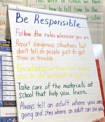 Be Responsible
