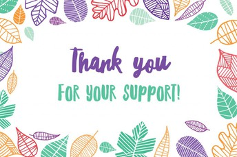 We Appreciate Support from YOU