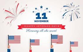 Celebrating our Veteran's