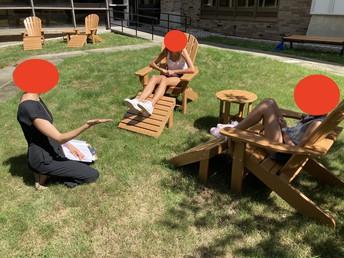 Adirondack Chairs (Bell School)