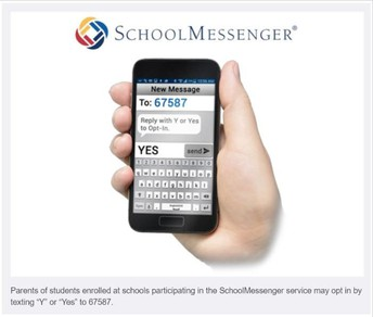 TEXT MESSAGING FROM PLAZA MIDDLE SCHOOL
