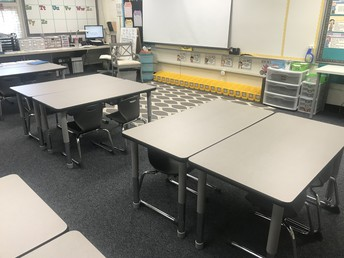 New Tables and Chairs!